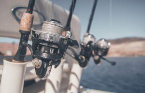 Pancing untuk memancing ikan laut