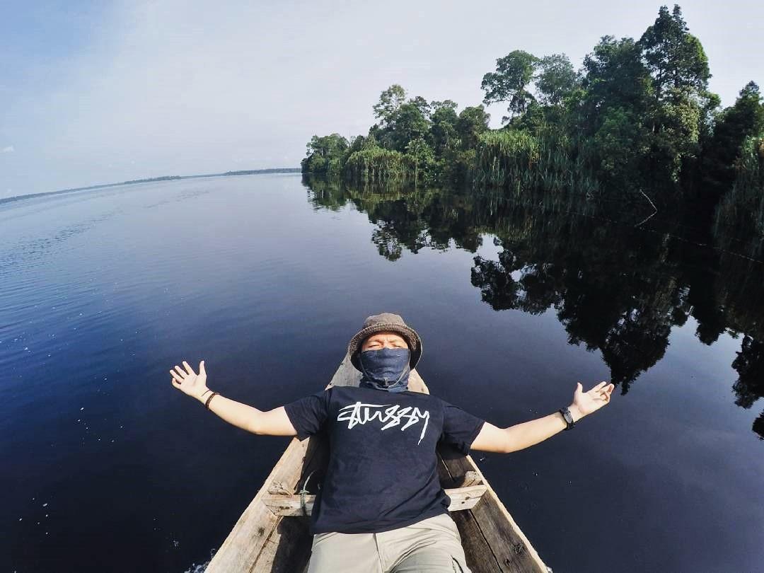 Danau Taman Nasional Zamrud Siak Sri Indrapura