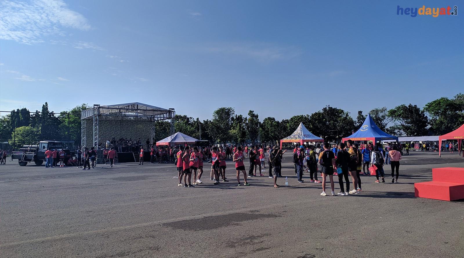 Suasana Lapangan Brigif 2 Sebelum Pengumuman Juara