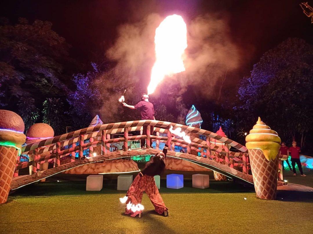 Atraksi Sirkus Lembang Wonderland