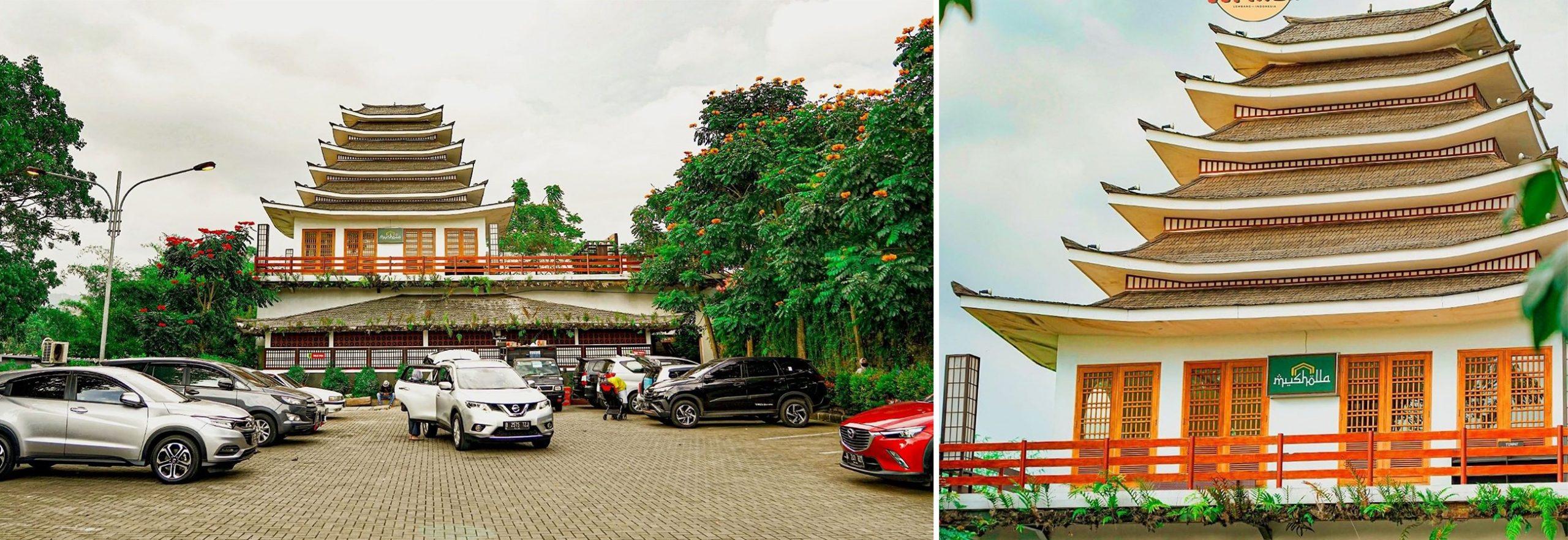Mushola Dan Tempat Parkir The Great Asia Africa Lembang