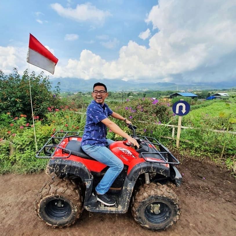 Naik ATV Desa Wisata Pujon Kidul Malang
