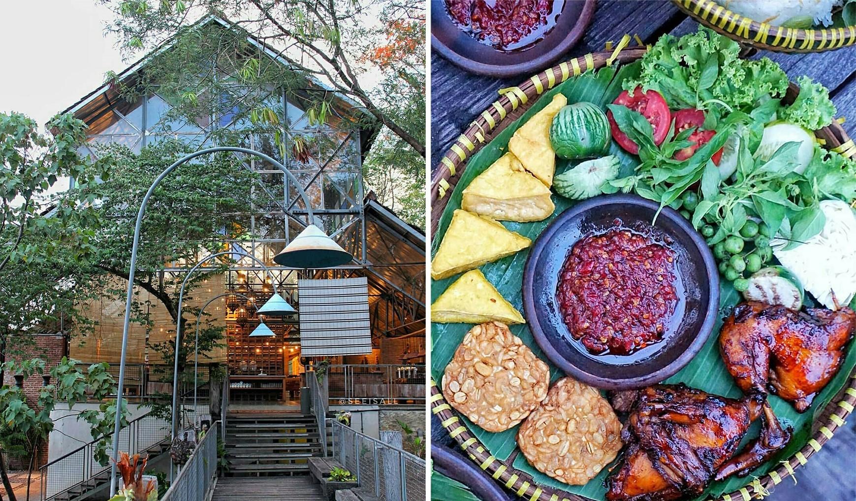 Restoran Lawang Rasa Dan Makanan Tradisional Desa Alamanis