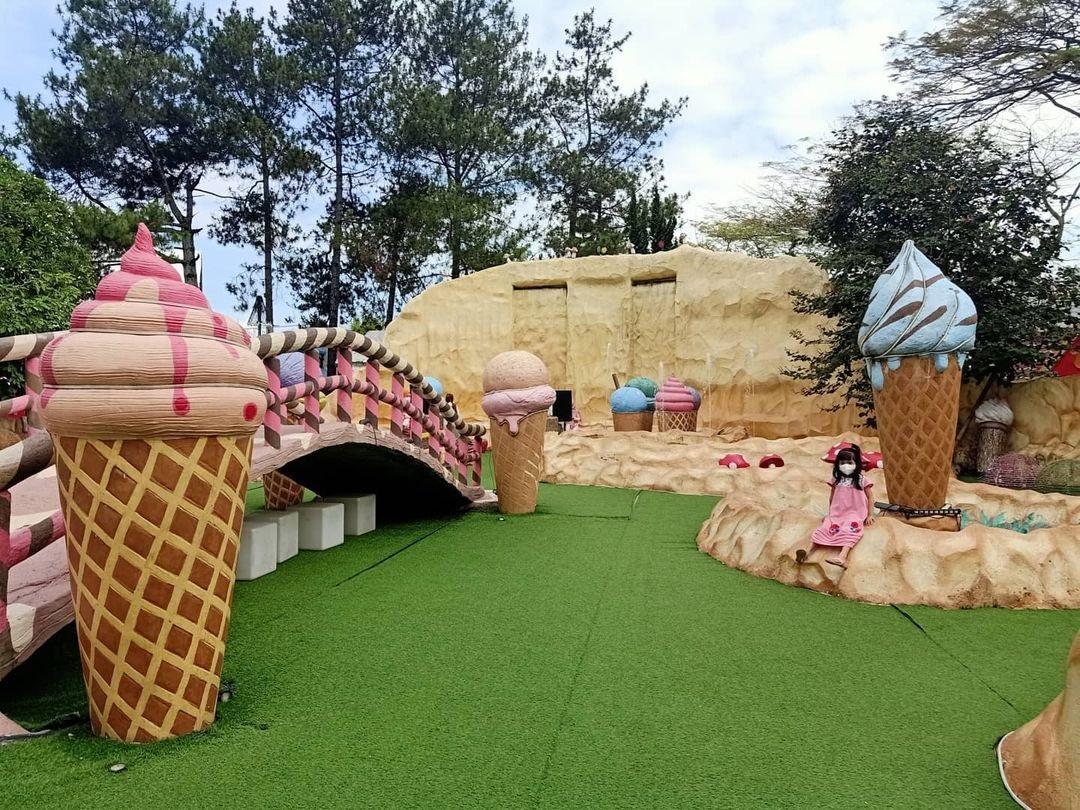 Wahana Taman Ice Cream Lembang Wonderland